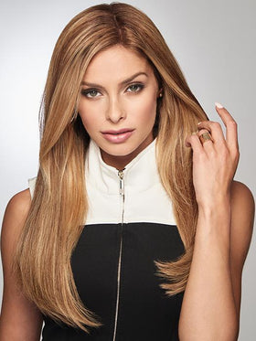 "GILDED 18"" by RAQUEL WELCH in R14/25 HONEY GINGER 
