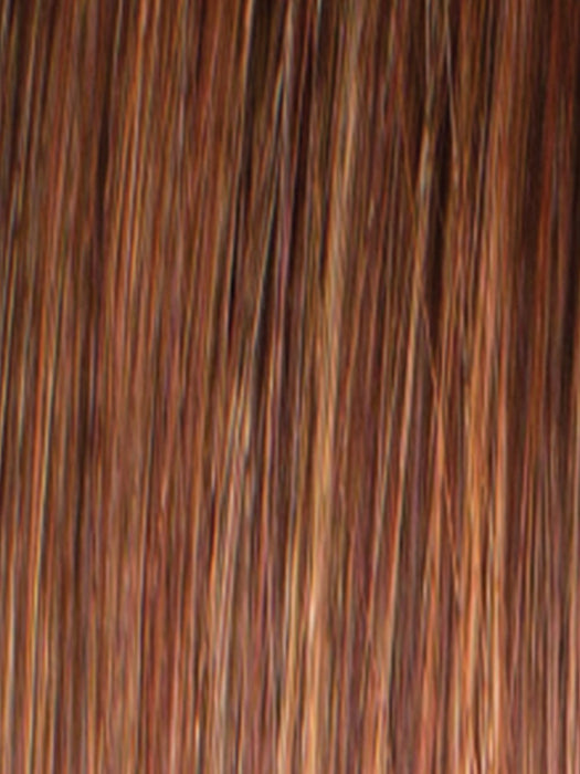 RUSTY-RED | Medium Reddish Brown with Light Reddish Highlights