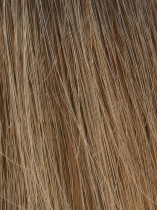 SPRING ACORN | Dark Brown Root and Medium Blonde Blended with Light Brown Tones