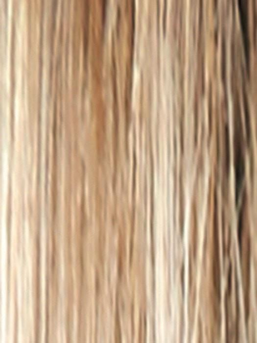 SPRING HONEY R | Rooted Honey Blonde and Gold Platinum Blonde evenly blended