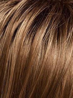 SS12/20 SHADED TOAST | Cool, Light Brown with Rich Medium Brown Roots-Contains undertones of Blonde
