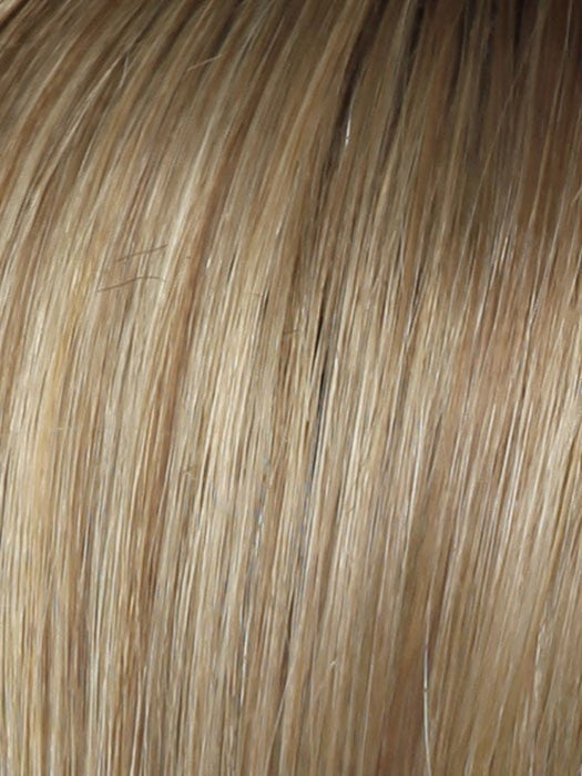 Color SS14/25 = Honey Ginger: Dark Golden Blonde w/ Light  Gold Highlights & Med Brown Roots