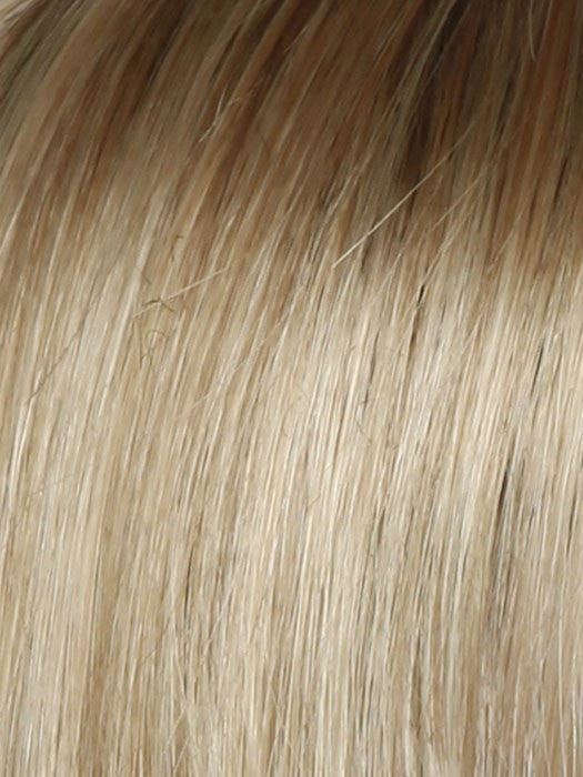 SS14/88 | SHADED GOLDEN WHEAT | Medium Blonde Streaked With Pale Gold Highlights Dark Brown with Subtle Warm Highlights Roots