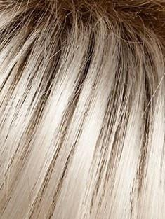 SS23/61 SHADED CREAM | Cool Platinum Blonde blended with Soft, Pearlescent White, with Dark Brown roots