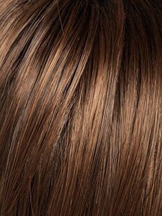 SS9/30 COCOA | Warm Medium Brown Evenly Blended with Medium Auburn with Dark Roots