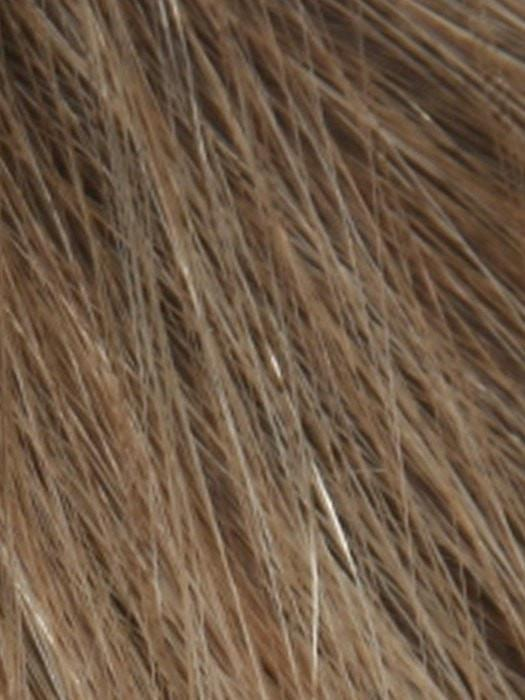 SUNNY ASH FROST | Dark Brown Root and Ash Blonde Blended with Sunny Blonde Tones