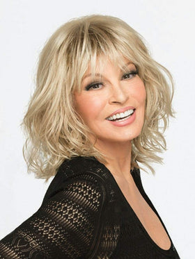 STOP TRAFFIC by Raquel Welch in SS15/24 SHADED CHAMPAGNE | Medium Blonde highlighted with Golden Blonde,Golden Brown roots