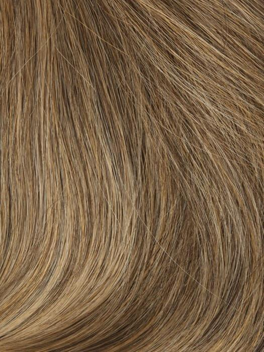 T140/8 18 KARAT GOLD | Brown Blended w. Medium Blonde Tones, Medium Blonde Tip