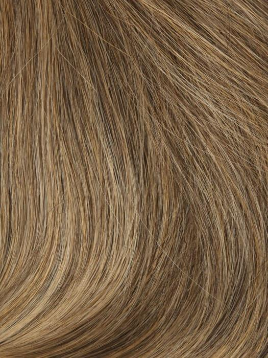 T140/8 18 KARAT GOLD | Brown Blended with Medium Blonde Tones, Medium Blonde Tip