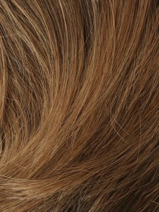 T27/33B DARK SHADE BLONDE | Dark Red Blended with Light Brown, Blonde, Red Tones, Brown, Blonde, Red Tip