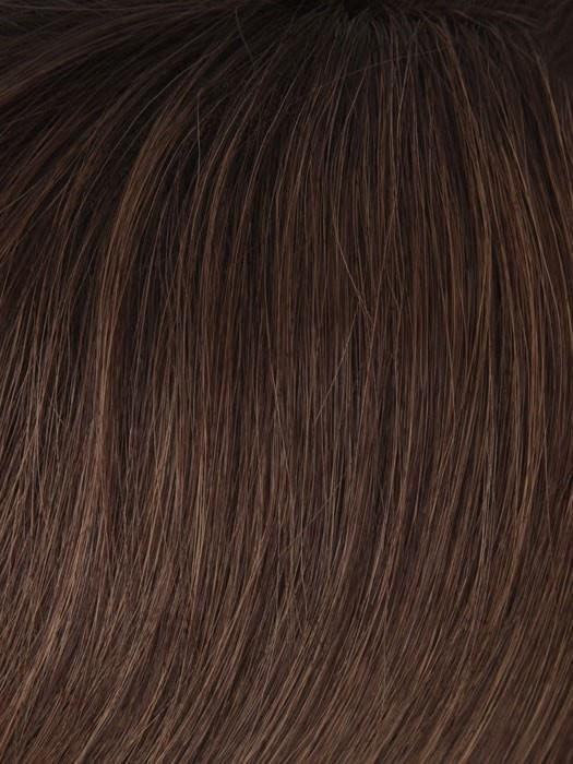 T32/6 RAISIN GLAZE | Auburn Highlight w. Dark Brown Root
