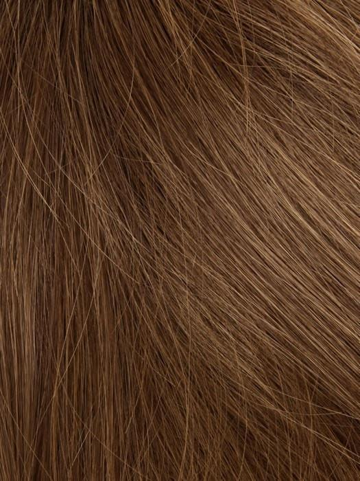 T6/8/28 MOCCACCHINO | Dark Brown Blended with Brown and Copper Tones, Copper Tip