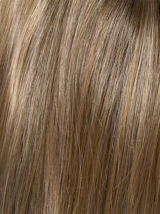 TOASTED SESAME | Medium Brown roots with overall Warm Cinnamon base and Golden Blonde highlights