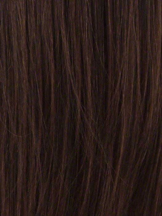 TP30/4 | Medium Dark  Brown Highlight Streak With Copper Blonde Tip