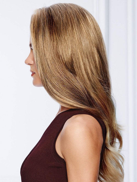 Flexlite® Synthetic Hair Top Piece | Ready-to-Wear and specially formulated to simulate the natural look and feel of protein rich hair