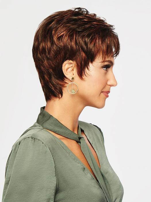 Loved for its simplicity, Winner offers a wispy bang, textured layering on top with length at the crown and layered ends.