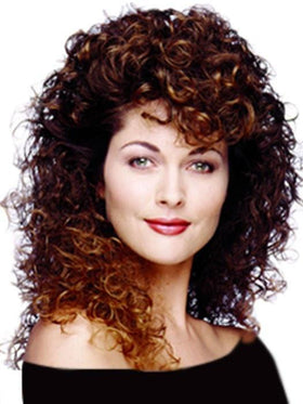 Celebrity Wig by Aspen Wigs : Long Synthetic Curly Wig