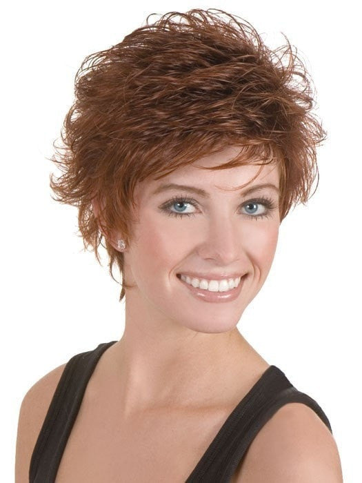 Taylor by Dream USA in 33/130R | Medium Brown (10) blended with Brightest Red (130)