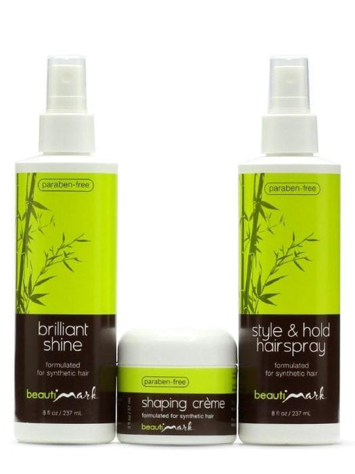 Styling Trio for Synthetic Hair by BeautiMark