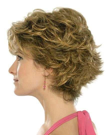 Color RH268 = GOLDEN BROWN WITH COPPER BLONDE HIGHLIGHTS