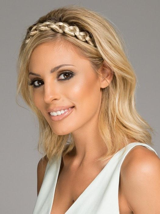 Thick Braid Headband by Christie Brinkley | Synthetic Headband | CLOSEOUT