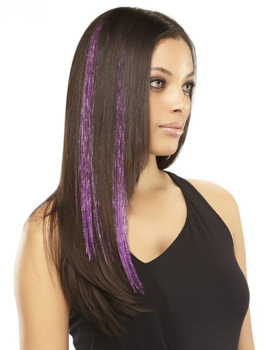 Color = Purple-Tinsel | easiTinsel by easihair