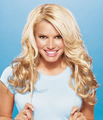 "Color N/A | 21"" Human Hair Extension by Jessica Simpson"