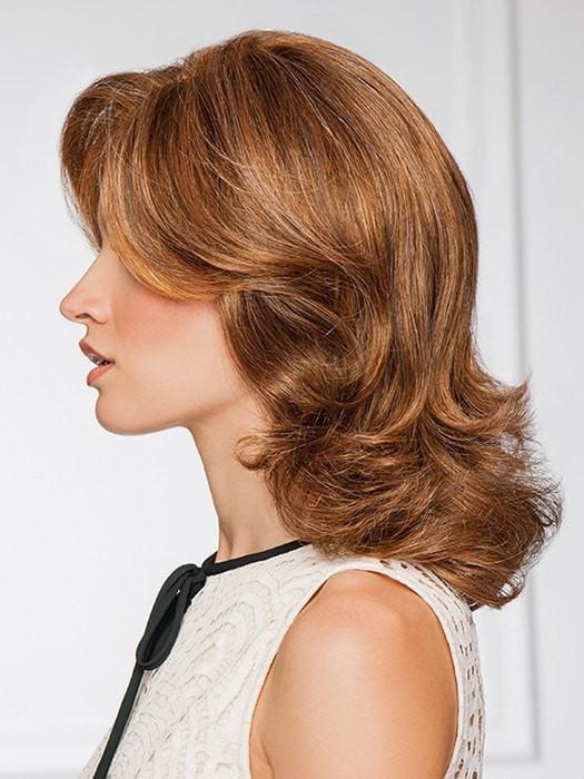 Monofilament part—Hair is hand tied to Gabor® Next Luxury monofilament part | Color: GL8/29