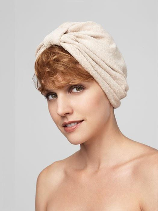 Terry Cloth Turban | Color CREAM