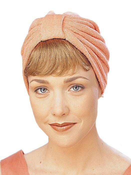 Terry Cloth Turban | Color Iced-Strawberry