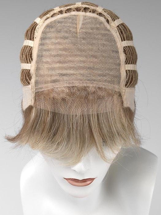 Cap Construction Details: Hand-Tied top & Lace Front