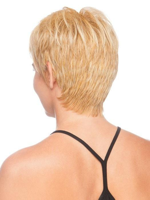 The tapered neckline is comfortable and gives coverage | Color: Medium Blonde