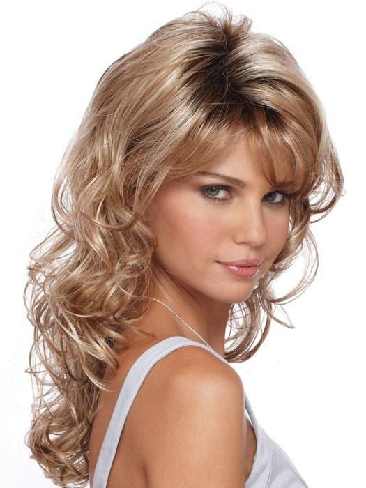 Becky Wig by Estetica Designs Wigs : Side View | Color R20RT8