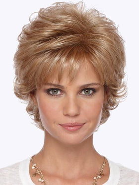 Color R20F = LIGHT AUBURN/GOLDEN BLONDE FROST | Mandy Wig by Estetica