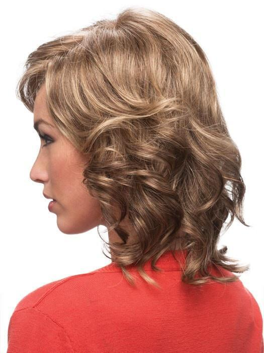 Estetica Designs Patti Wig : Side View | Color R18/24H