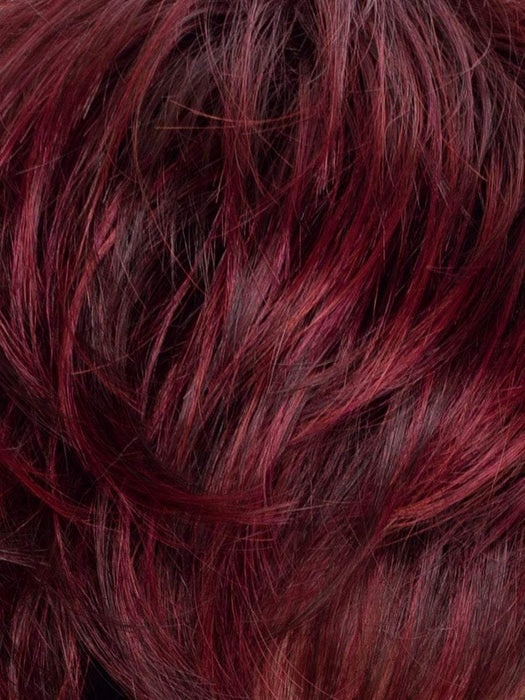 CHERRY MIX | Dark brown base, dark burgundy Red, and Bright Cherry Blend