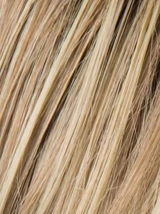 CHAMPAGNE ROOTED | Med Beige Blonde,  Medium Gold Blonde, and Lightest Blonde blend with Darker Roots