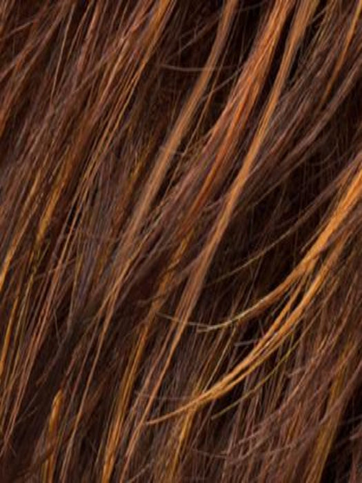HAZELNUT | Medium Brown base with  Medium Reddish Brown and Copper Red highlights