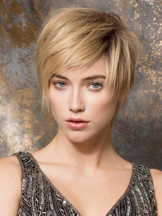 AWARD by Ellen Wille in SANDY BLONDE ROOTED | Lightest Brown and Medium Ash Blonde Blend with Light Brown Roots