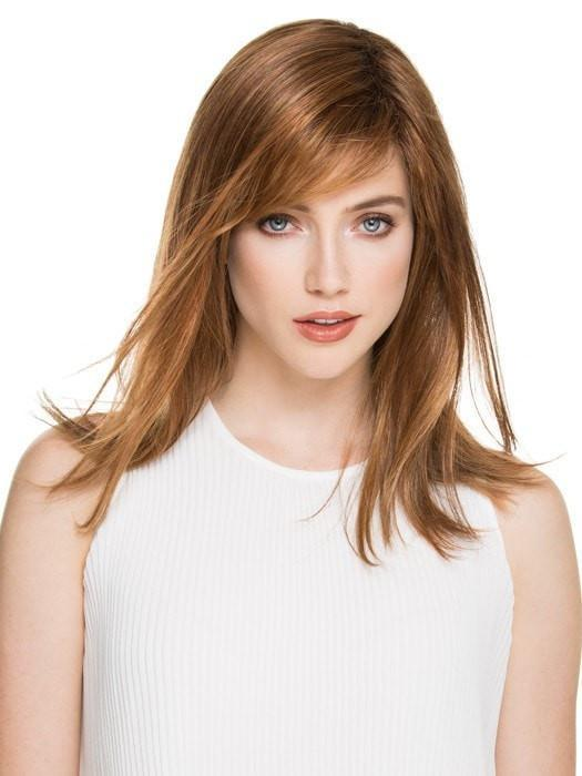 CARRIE by Ellen Wille in SAFRAN ROOTED | Dark Copper Red, Copper Red, and Light Copper Red Blend with Dark Auburn Roots