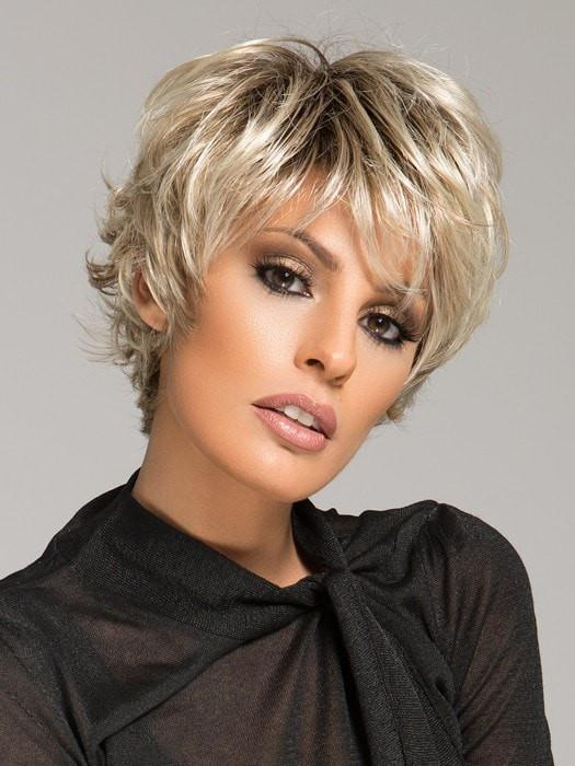 Ellen Wille Club 10 | Short & Edgy Wig, textured and flips on the ends to create different look