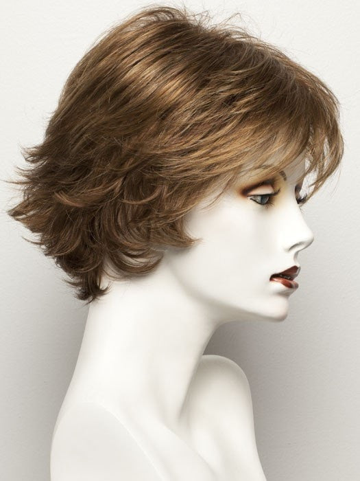 Color 30/31-30 = Medium Auburn with Medium to Light Copper Red on top, with a Medium Auburn nape