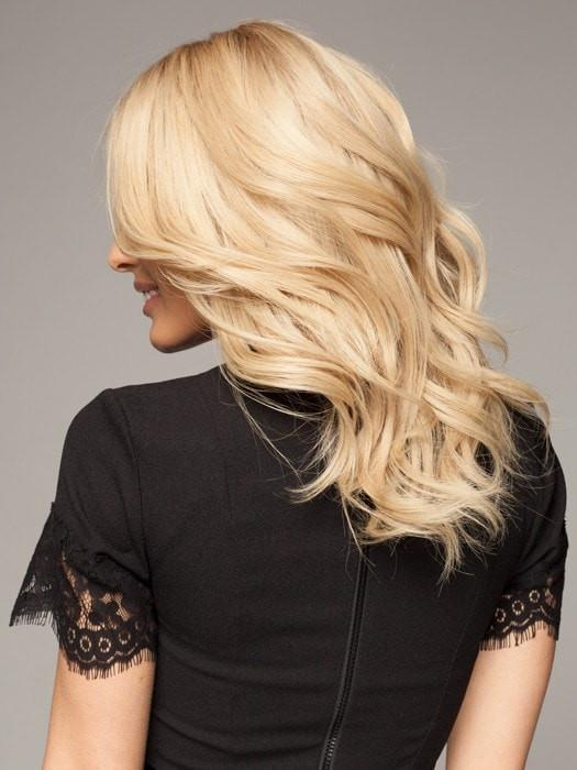 Blonde Lace Front Wig in SANDY BLONDE ROOTED