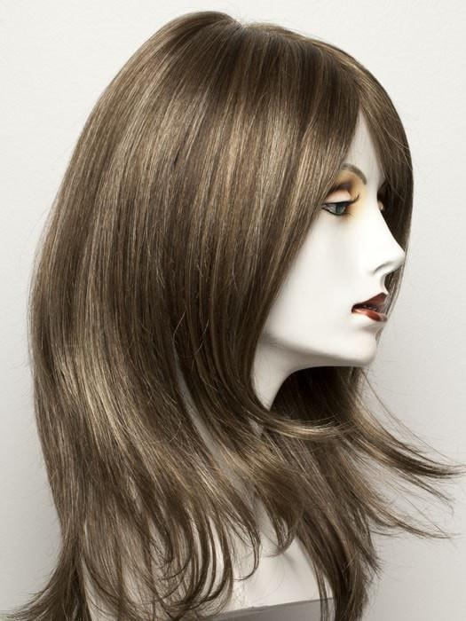 NOUGAT MIX | Light Brown, Dark Honey Blonde, and Medium to Light Reddish Brown blend