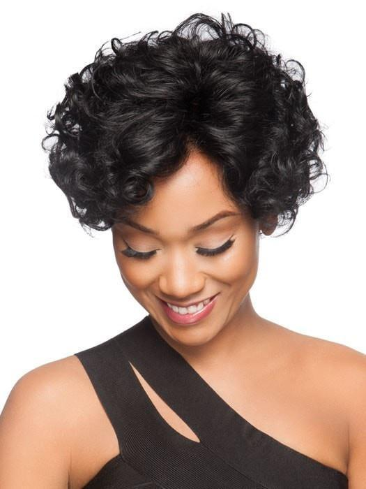 Ringlet curls can be worn polished and tight or can be combed out to loosen the curl