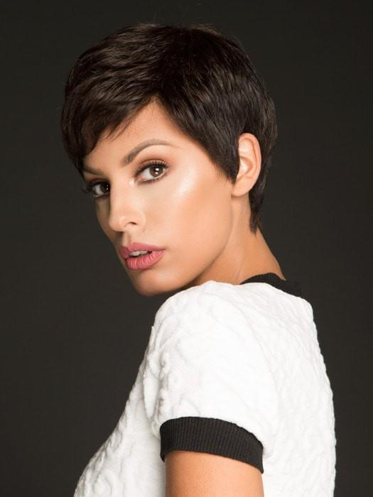 Short, Brown Pixie Wig