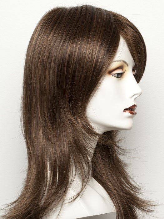 Color Chocolate-Mix = Medium to Dark Brown base w/ Light Reddish Brown highlights