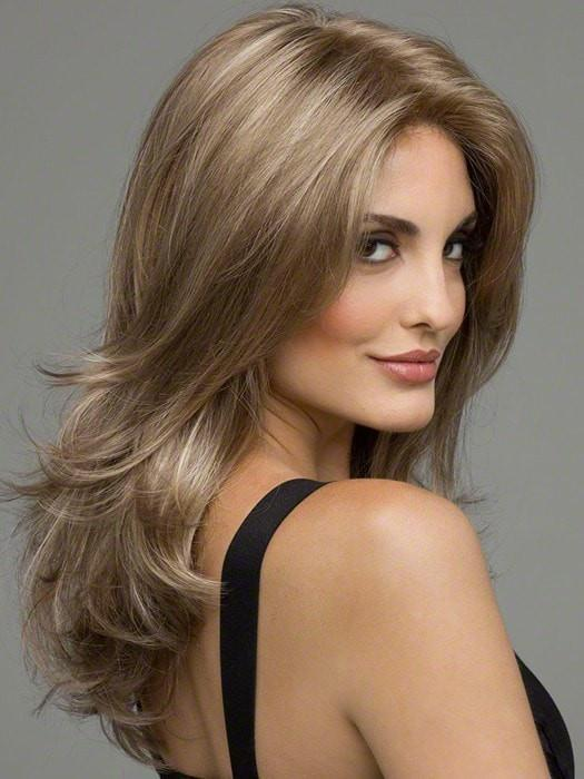 Monofilament Top - Creates the illusions of natural hair growth where the hair is parted.