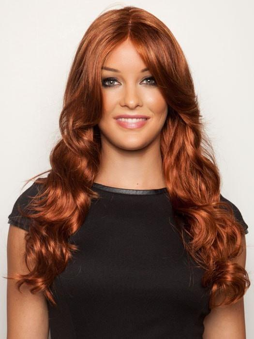 LIGHTER RED | Irish Red with subtle Blonde highlights