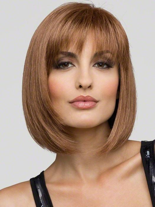 CARLEY WIG by Envy in LIGHT BROWN | Light Golden Brown with subtle highlights